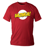 The Big Bang Theory T-Shirt Logo Bazinga