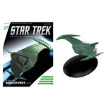 Star Trek Official Starships Collection Magazine with Model #27 Romulan Bird-of-Prey (2152)