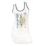 de4c7145bd7d3d BUDWEISER Women s Vertical Logo Tank Top