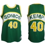 Seattle SuperSonics Jersey Hardwood Classic Shawn Kemp 40