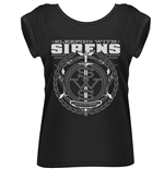Sleeping With Sirens T-shirt Crest