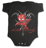 Little Devil - Baby Sleepsuit Black