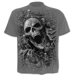 Skulls Cove - T-Shirt Black Charcoal