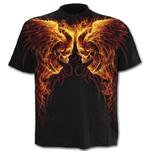 Burn In Hell - Allover T-Shirt Black