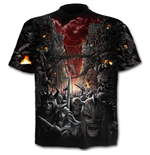Devils Pathway - Allover T-Shirt Black
