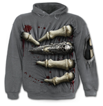 Death Grip - Hoody Charcoal
