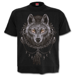 Wolf Dreams - T-Shirt Black Plus Size