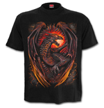 Dragon Furnace - T-Shirt Black Plus Size