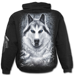 White Wolf - Hoody Black