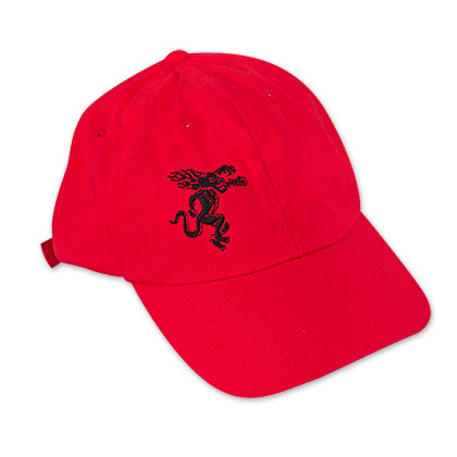 Fireball Red Dragon Logo Hat