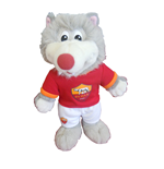 AS Roma Plush Toy Romolo Cm 20