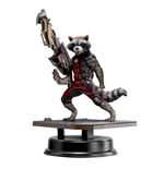 Guardians of the Galaxy Hero Vignette 1/9 Rocket Raccoon Red Suit Ver. 18 cm