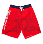 BUDWEISER Men's Red Board Shorts