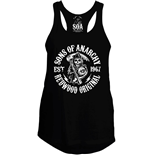 Sons Of Anarchy Girlie Tank Top Redwood Original