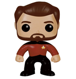 Star Trek TNG POP! Vinyl Figure Riker 9 cm