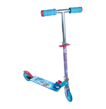 DISNEY Frozen Two Wheel Foldable Scooter with Adjustable Handle