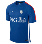 2015-2016 Holland Nike Training Shirt (Blue)