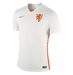 2015-2016 Holland Authentic Away Nike Football Shirt