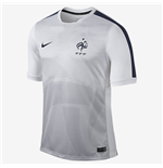 2015-16 France Nike Pre-Match Training Jersey (White)