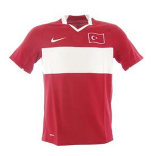 Official jersey Turkey home Euro 2008