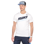 2015-2016 France Nike Core Type Tee (White)