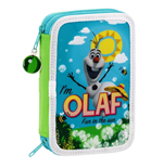 Frozen (Olaf) pencil case double filled