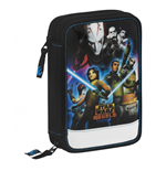 Star Wars (Rebels) pencil case double filled
