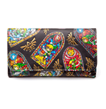 NINTENDO Legend of Zelda WindWaker HD Tri-Fold Purse Wallet, Black