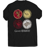 Game of Thrones T-Shirt House Crests