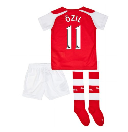 2014-15 Arsenal Home Mini Kit (Ozil 11)