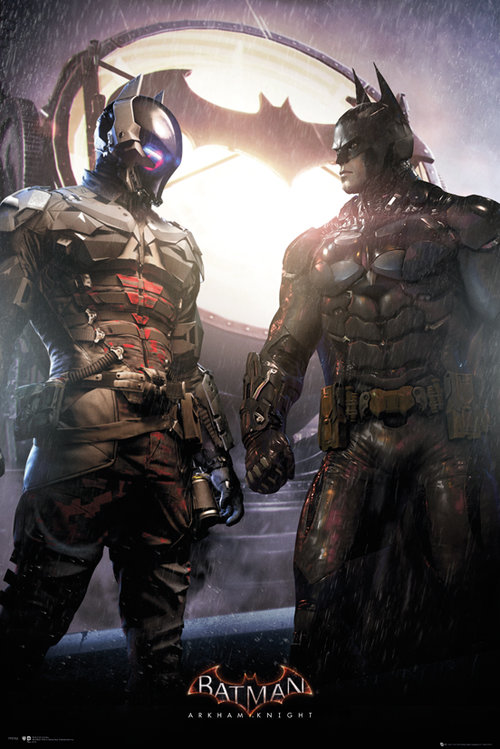 Batman Arkham Knight Arkham Knight and Batman Maxi Poster
