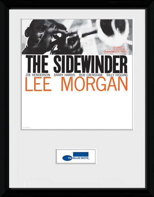 Blue Note Sidewinder Framed Collector Print