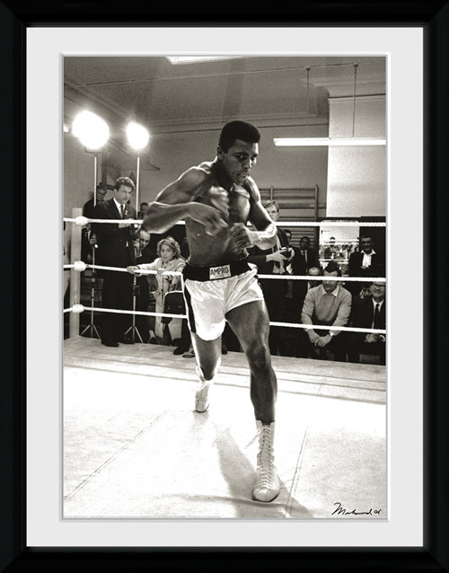 Muhammed Ali Spa Framed Collector Print