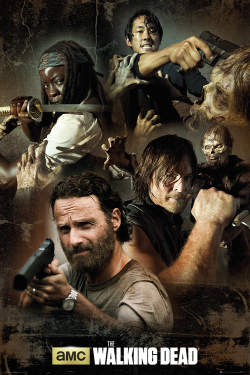 The Walking Dead Collage Maxi Poster