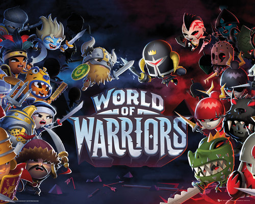World Of Warriors Characters Mini Poster