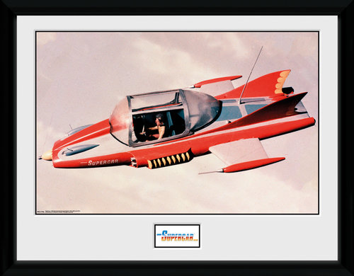 Supercar Framed Collector Print