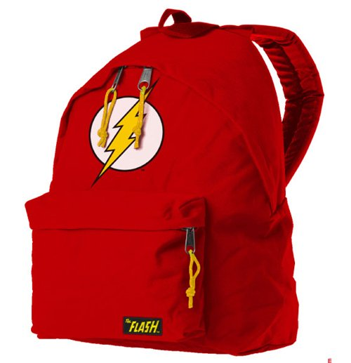 82a25fd3f7 Official The Flash Backpack Flash Logo  Buy Online on Offer