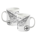 The Mission Mug Logo Plus Eagle