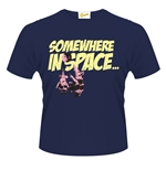 Clangers T-shirt Somewhere In Space
