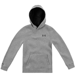 Under Armour 2015 EU Storm Cotton Transit Hoody (True Grey) - Kids