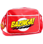 BIG BANG THEORY Bazinga! Messenger Bag, Red