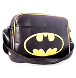 DC COMICS Batman Logo Messenger Bag, Black