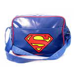DC COMICS Superman Logo Messenger Bag, Blue