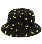 POKEMON Pikachu Black Bucket Hat