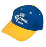 CORONA EXTRA Blue And Yellow Hat