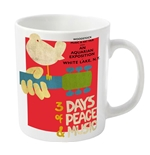 Woodstock Mug 3 Days Of Peace