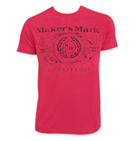 MAKER'S MARK Ambassador Red T-Shirt