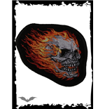 Patch - Burning Skull
