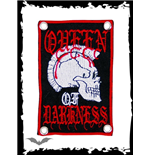 Queen of Darkness - Punk Skull Patch