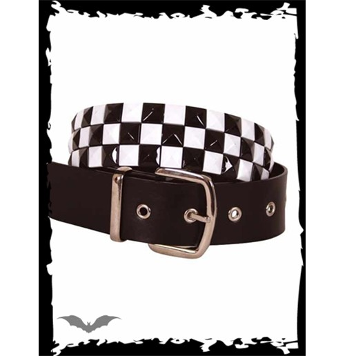 3 row chessboard pattern belt